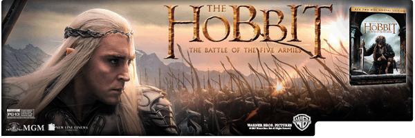 HOBBIT 3: THE BATTLE OF THE FIVE ARMIES (2PC)