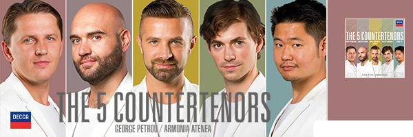 5 COUNTERTENORS / 5 COUNTERTENORS