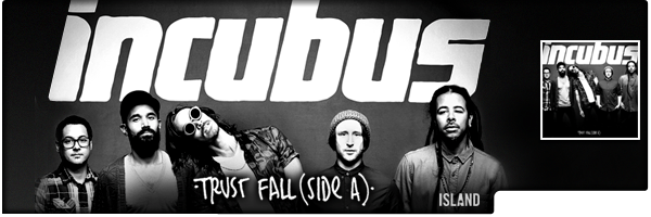 INCUBUS / TRUST FALL (SIDE A) EP (EP)