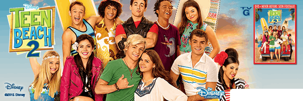 TEEN BEACH MOVIE 2 / (AC3 DOL)
