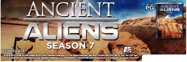 ANCIENT ALIENS: SEASON 7 - VOLUME 1 (3PC)