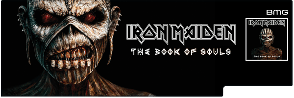 IRON MAIDEN / BOOK OF SOULS