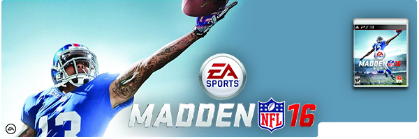 MADDEN NFL 16 / PS3