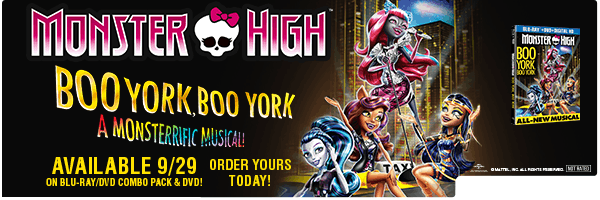 MONSTER HIGH: BOO YORK BOO YORK / (SLIP SNAP)