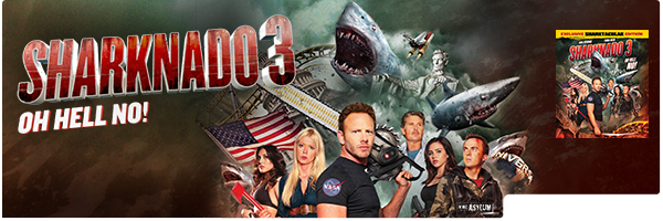 SHARKNADO 3: OH HELL NO! / (WS)
