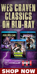 Wes Craven Blu-ray Sale