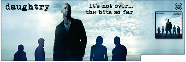 DAUGHTRY / IT'S NOT OVER: THE HITS SO FAR