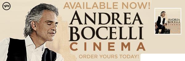ANDREA BOCELLI / CINEMA