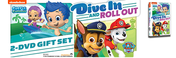 PAW PATROL / BUBBLE GUPPIES: DIVE IN & ROLL OUT