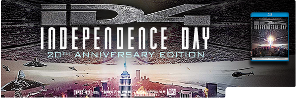 INDEPENDENCE DAY 20TH ANNIVERSARY / (ANIV WS)