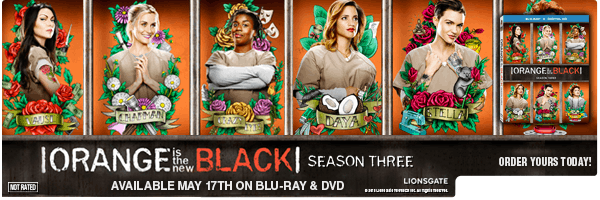 ORANGE IS THE NEW BLACK: SEASON 3 (4PC) / (BOX WS)