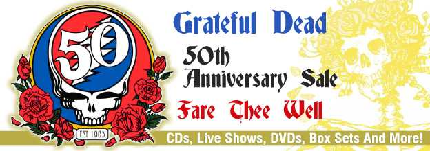 Grateful Dead Anniversary Sale