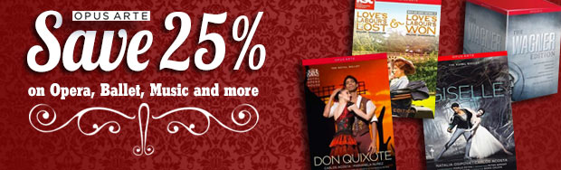 Opera, Ballet, Theater and Music Sale