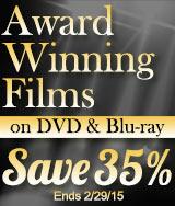 Save 35% on Award Winning Movies
