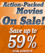 Action-Packed Movies on Sale