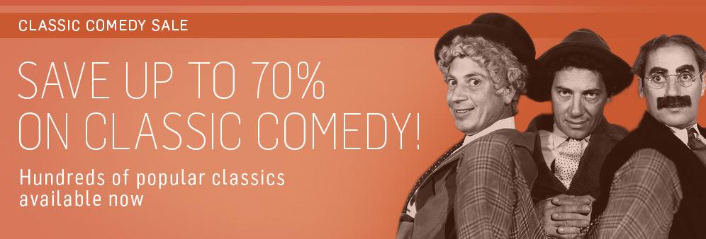 TCM Classic Comedy Sale