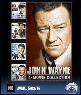 John Wayne 4-Movie Collection