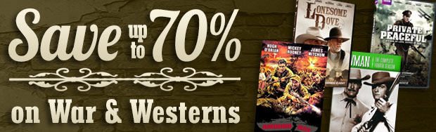 War & Western Sale Save up to 70%