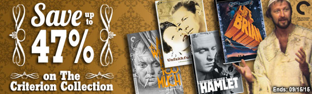 The Criterion Collection on Sale