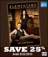 Elementary Third Season Save 25%