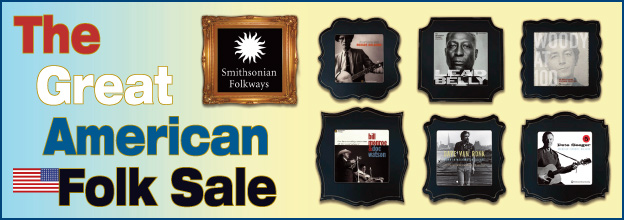 Smithsonian Folkways Sale