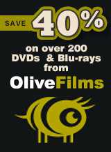 Save 40% On DVDS