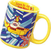 Yellow Submarine 14 Oz Decal Mug