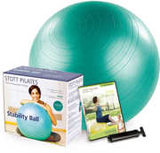 Stability Ball 65CM Kit - Green (W/ DVD)