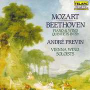 Mozart, Beethoven: Piano and Wind Quintets in E Flat , André Previn