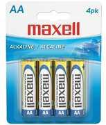 "Maxell ""Aa"" Alkaline Battery-4Pk Blister(Lr6)"