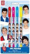 1D 4PK Gel Pens (Hol)