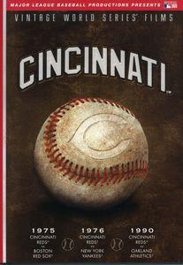 MLB: Cincinnati Reds World Series 1975, 1976, 1990