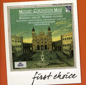 First Choice: Mozart Coronation Mass Exsultate