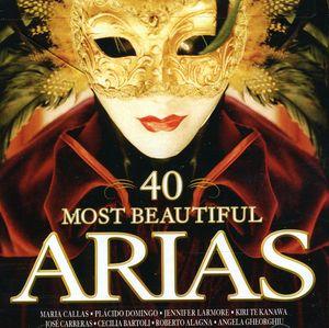 40 Most Beautiful Arias /  Various