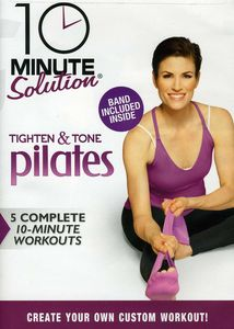 10 Ms: Tighten & Tone Pilates W/ Band