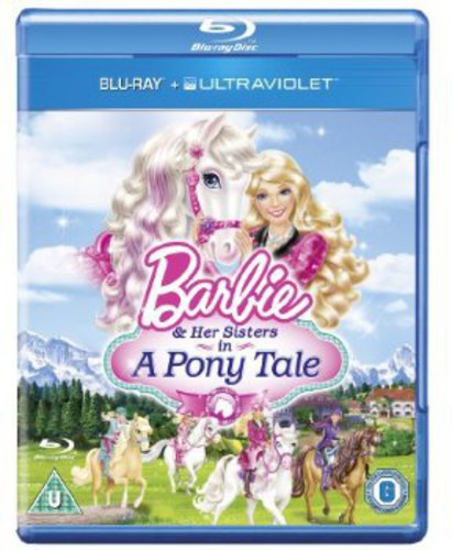 Barbie & Her Sisters in a Pony Tale (Blu+Uv) (IMPORT)