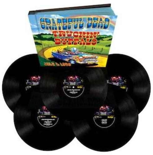 Grateful Dead Truckin Up To Buffalo July 4 1989 Vinyl