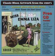 Classic Blues Artwork 1920S Calendar 2014 /  Var