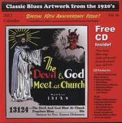 Classic Blues Artwork 1920S Calendar 2013 /  Var