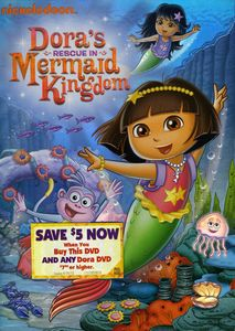 Dora the Explorer: Dora's Rescue in Mermaid Kingdom