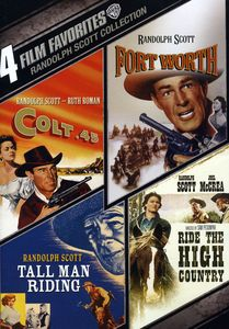 Randolph Scott Collection: 4 Film Favorites