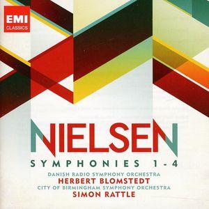 Nielson: Symphonies 1-4 /  Various