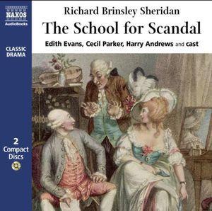 Richard Sheridan - The Disciples For Scandal (Evans, Parker, Andrews)