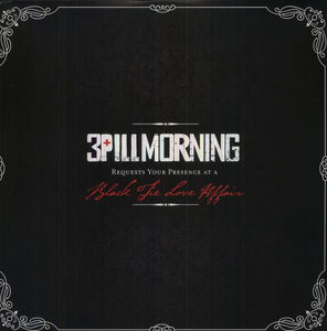 3PILLMORNING - BLACK TIE LOVE AFFAIR - LP