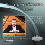 Beethoven: Sonatas, Vol. 3 , Garrick Ohlsson