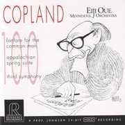 Copland: Fanfare for the Common Man; Appalachian Spring Suite; Third Symphony , Eiji Oue
