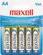 "Maxell ""Aa"" Alkaline Battery-10Pk Blister(Lr6)"
