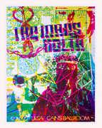 Tulsa Fall 2009 Tour Poster Multi (Post)