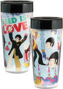 Yellow Submarine 16Oz Plastic Travel Mug