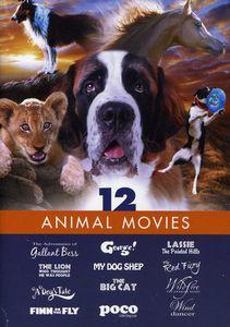 FAMILY FILM 12 PACK-ANIMAL MOVIES
